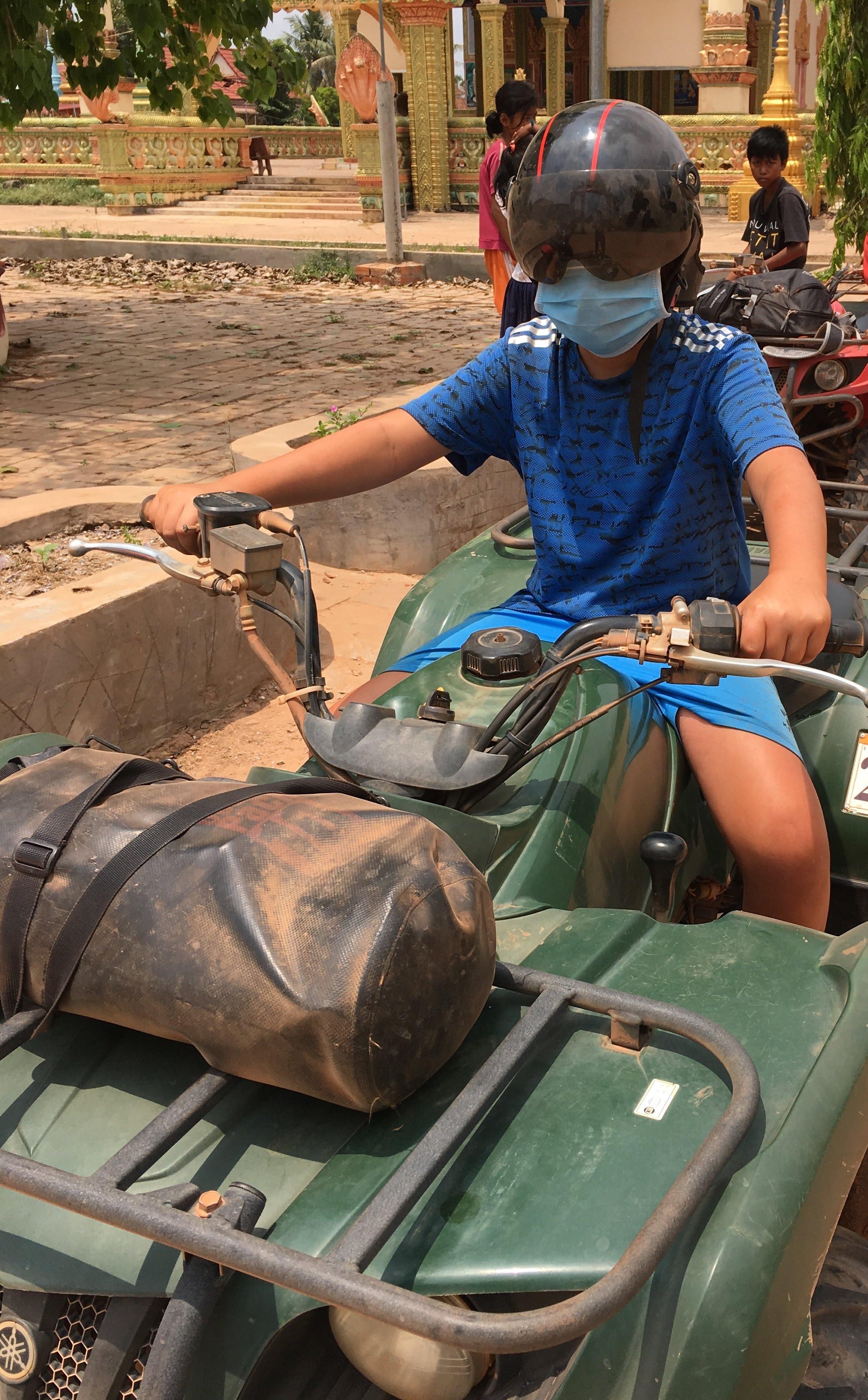 Cambodia — Off-road eventyr medbørn